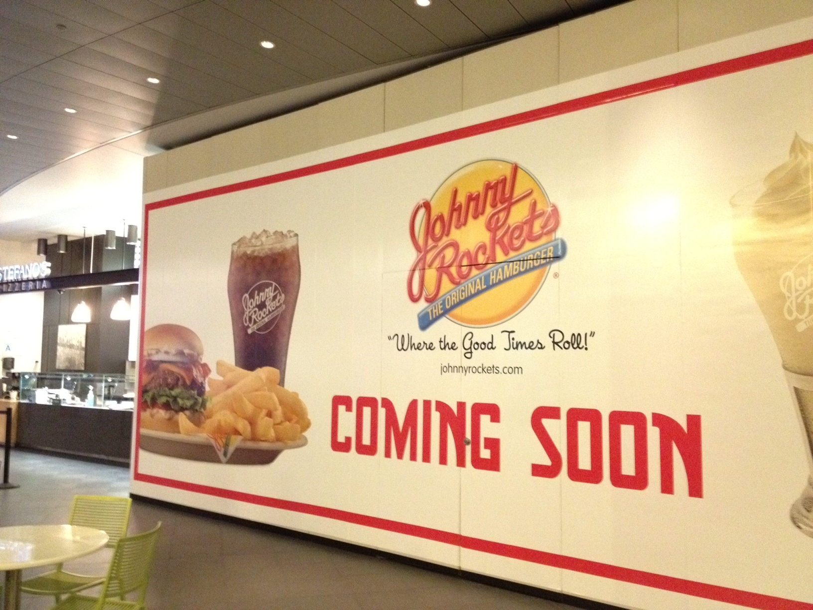 Johnny Rockets Food Court