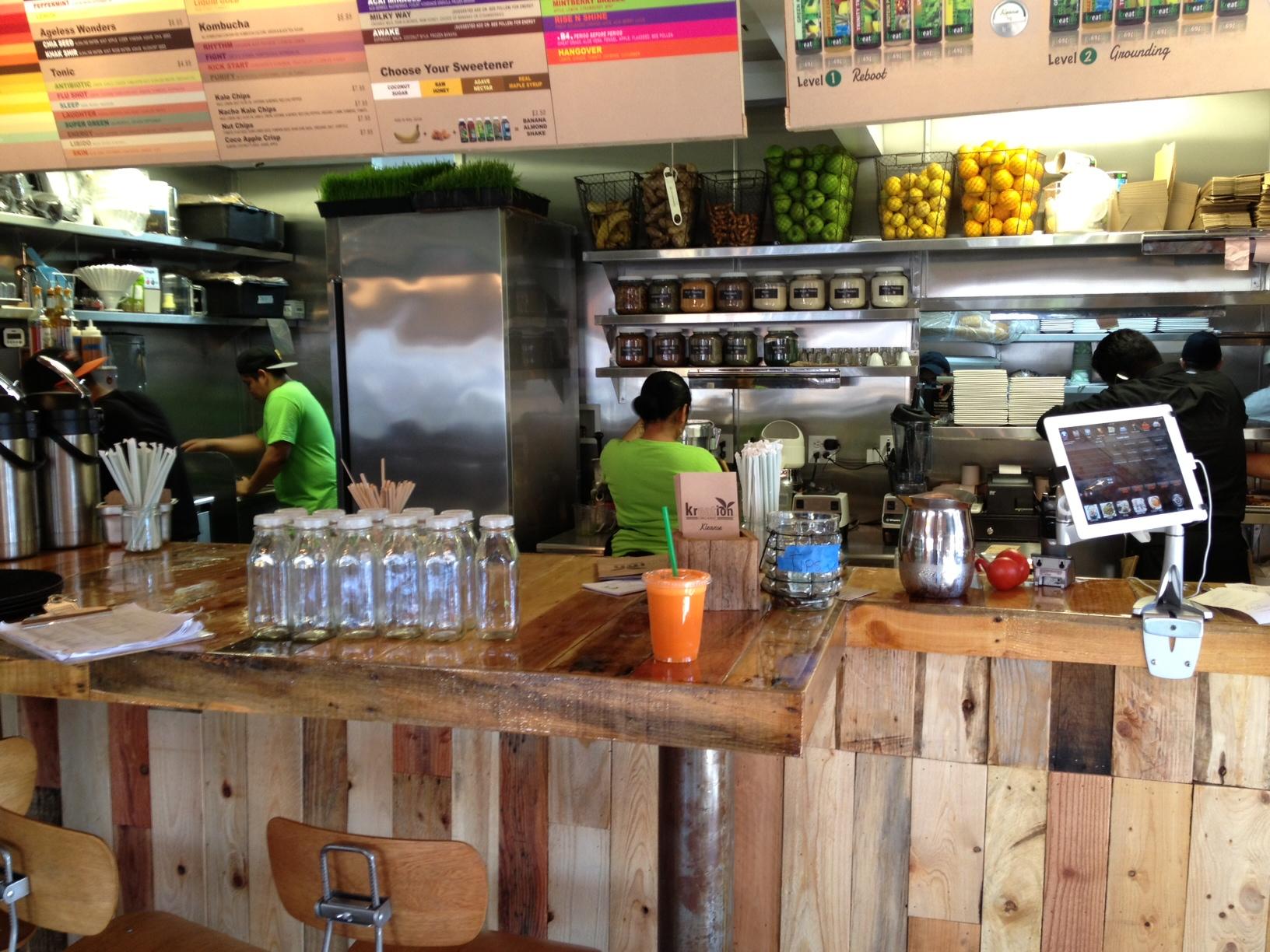 Cafe  S Santa Monica Blvd Restaurant